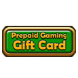 Prepaid gaming gift card