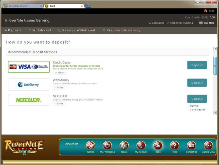 River Nile Casino objective review on LCB