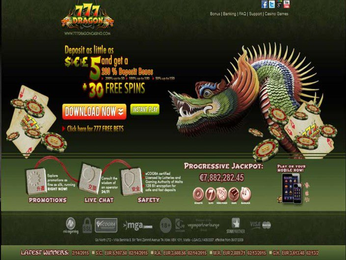 777 Dragon Casino objective review on LCB