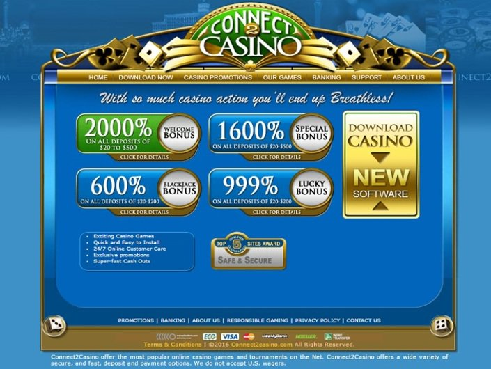 Connect 2 Casino objective review on LCB