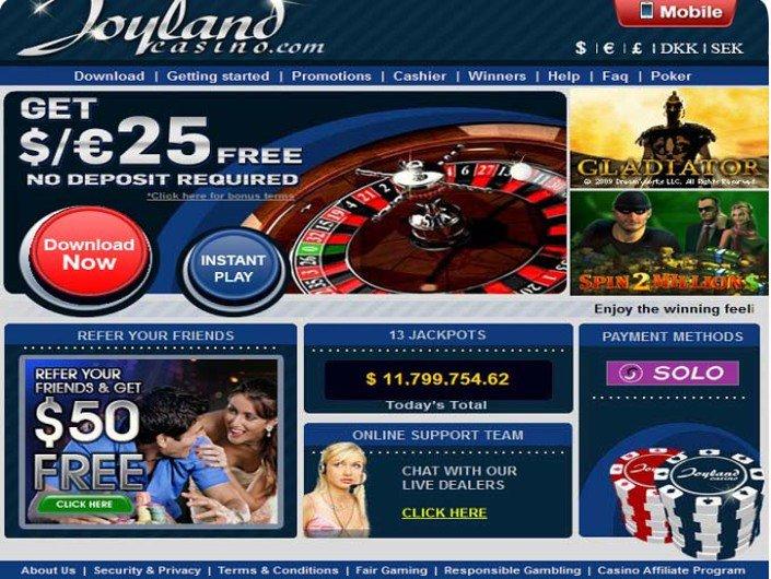 Joyland Casino objective review on LCB
