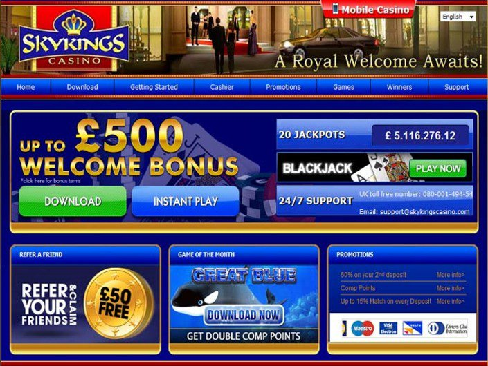 Sky Kings Casino objective review on LCB