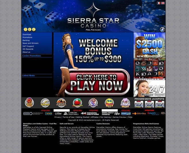 Sierra Star Casino objective review on LCB