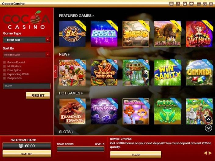 Cocao casino skagit casino wa