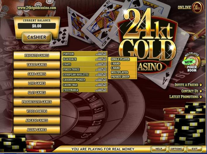 24kt Gold Casino objective review on LCB