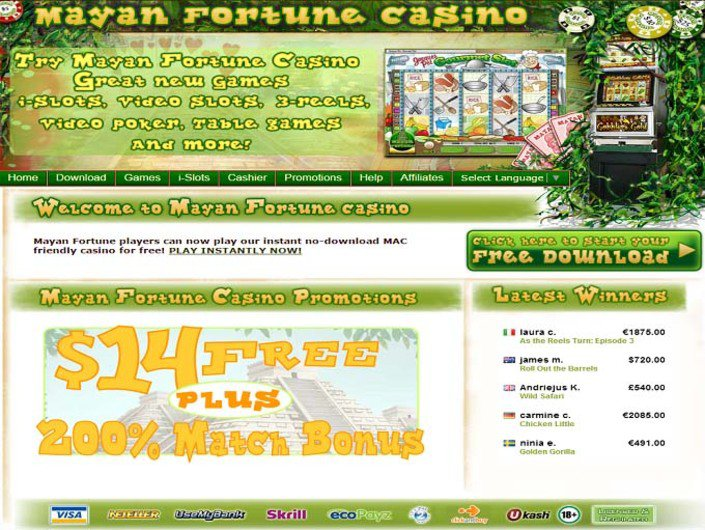 Mayan Fortune Casino objective review on LCB