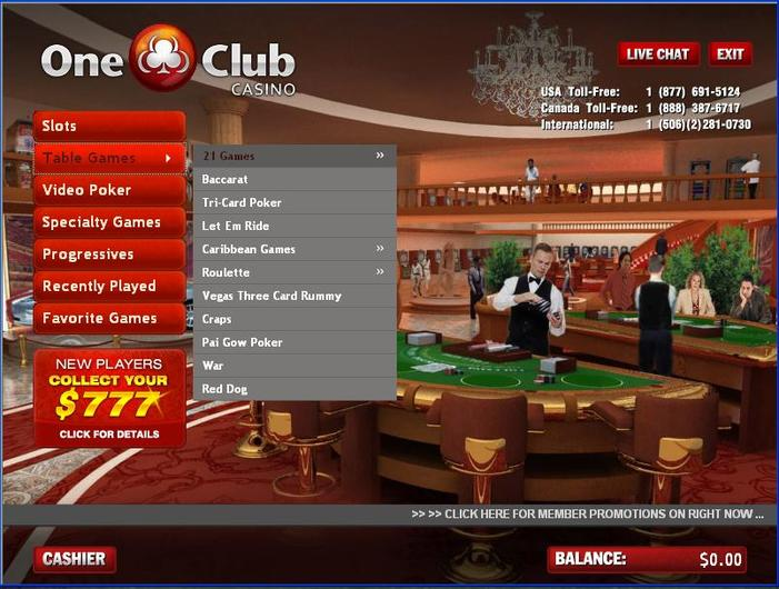One Club Casino Closed objective review on LCB
