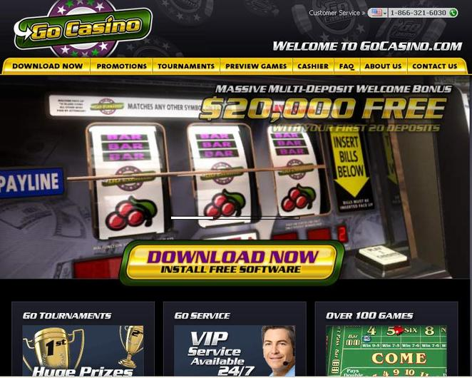 Go Casino objective review on LCB