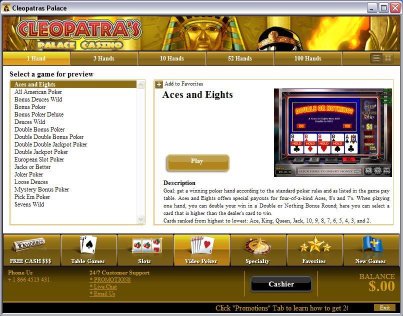 online casino warnings