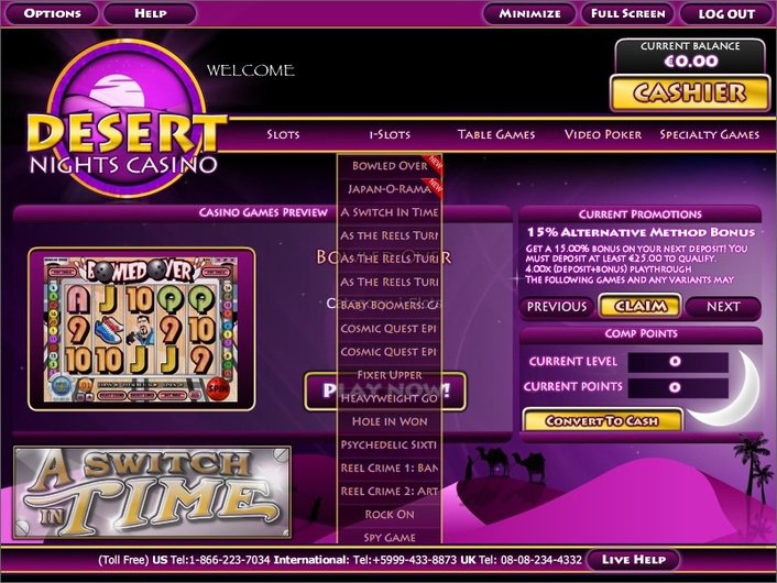 Casino desert dollar online list of uk gambling websites