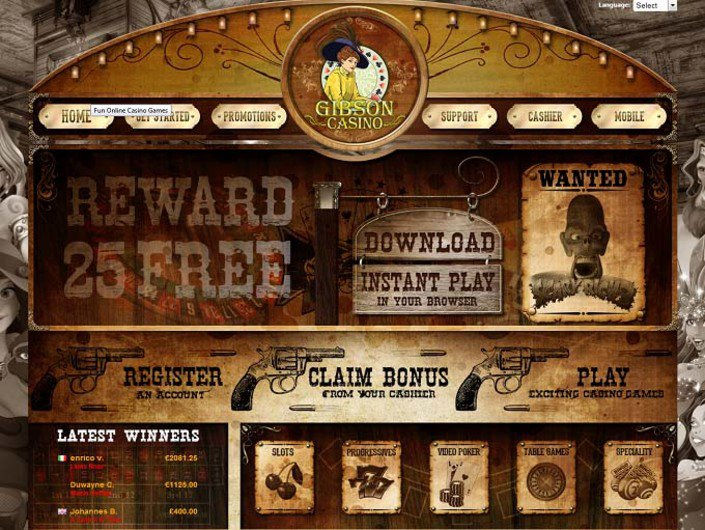 Gibson Casino objective review on LCB