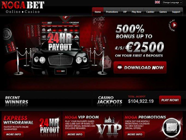 NogaBet Casino objective review on LCB