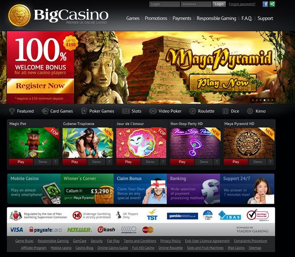 BigCasino Closed objective review on LCB