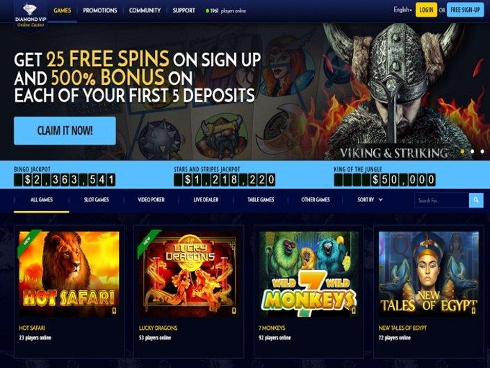 Diamond VIP Casino objective review on LCB