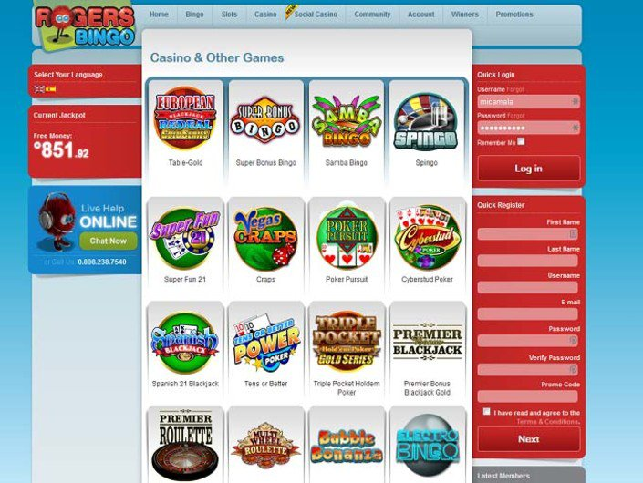 Rogers Casino objective review on LCB