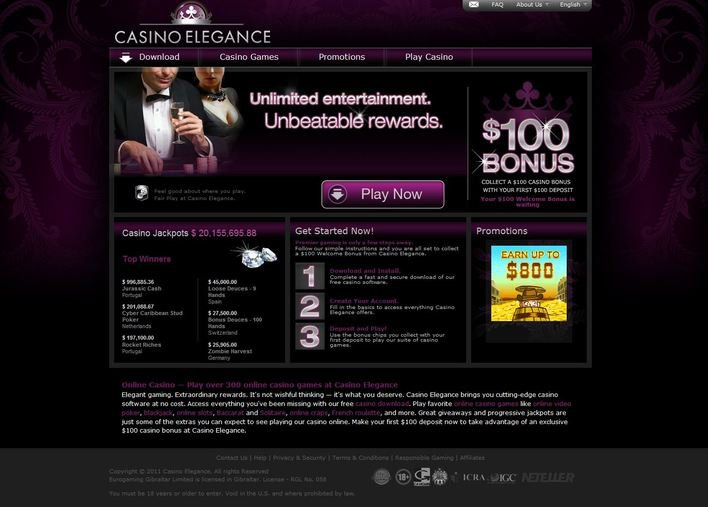 Casino Elegance objective review on LCB