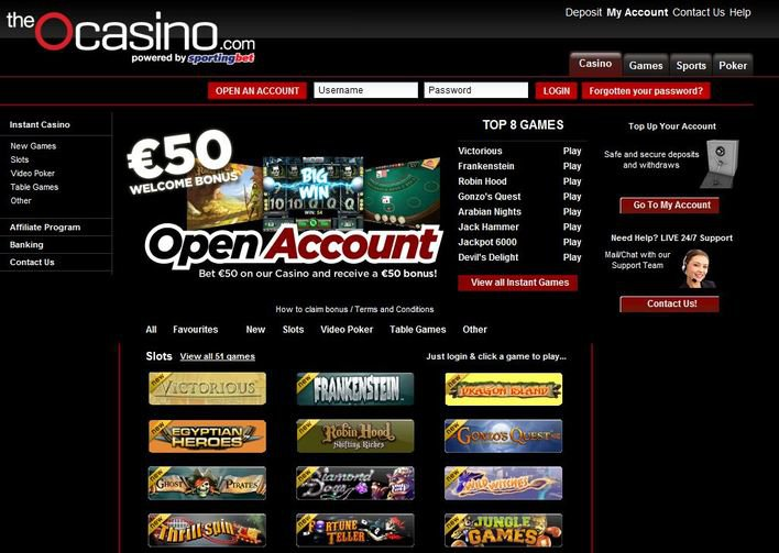 theOcasino objective review on LCB