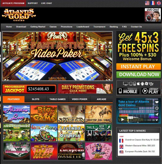 Atlantis Gold Casino objective review on LCB