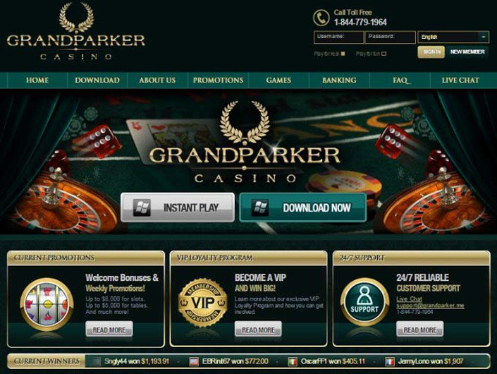 Grand Parker Casino objective review on LCB