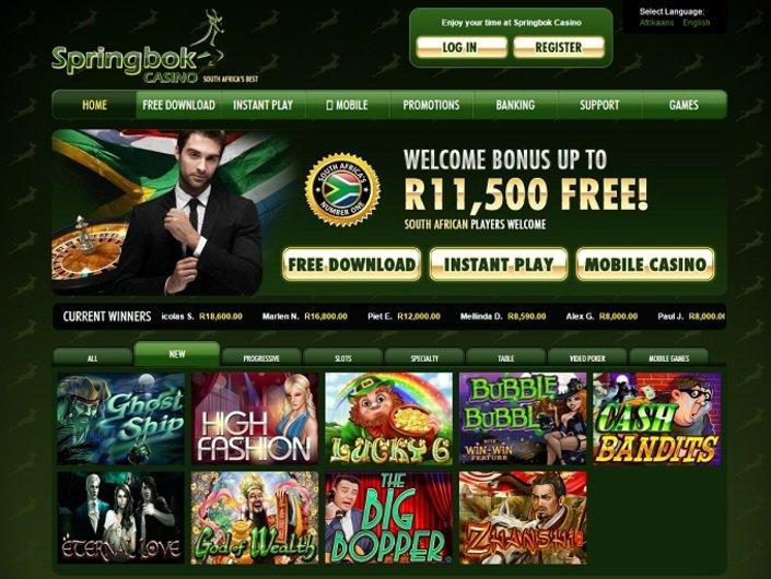 Springbok Casino objective review on LCB