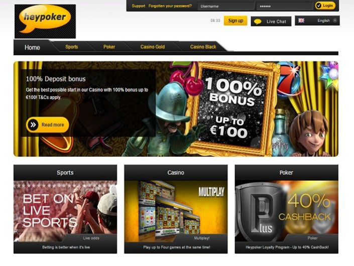 Heypoker Casino objective review on LCB