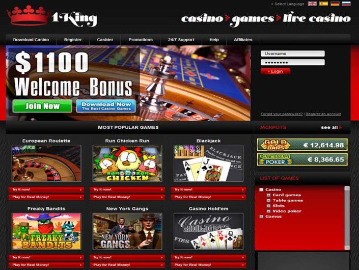 1King Casino objective review on LCB