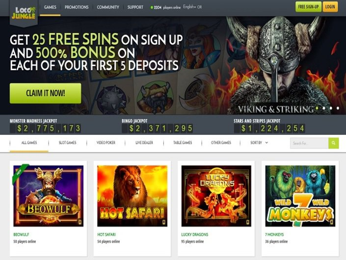 LocoJungle Casino objective review on LCB