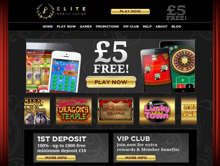 Elite Mobile Casino objective review on LCB