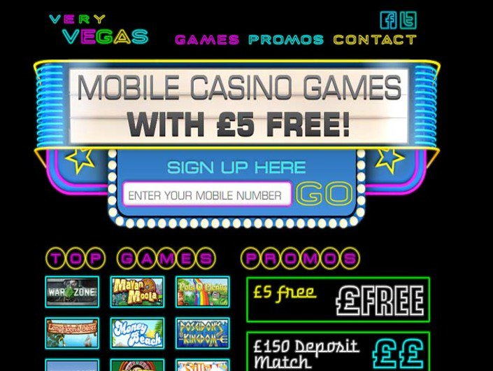 Very Vegas Mobile Casino objective review on LCB
