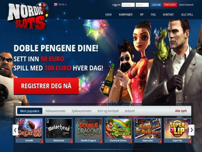 NordicSlots objective review on LCB