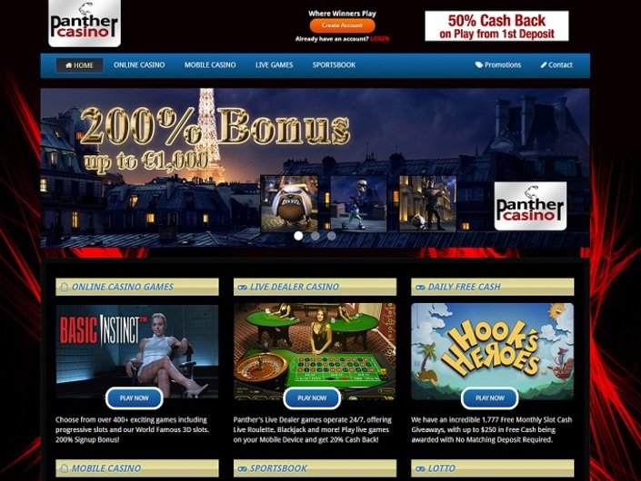 Panther Casino objective review on LCB