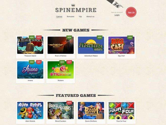 SpinEmpire Casino