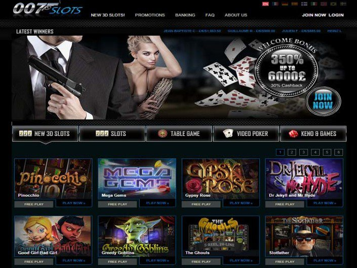 007Slots objective review on LCB