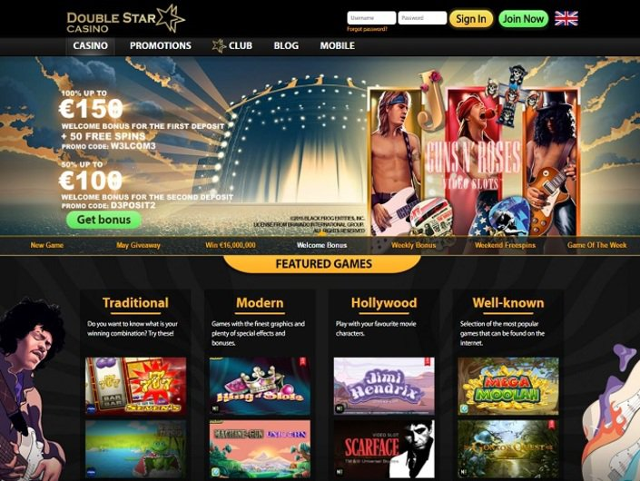Double Star Casino objective review on LCB