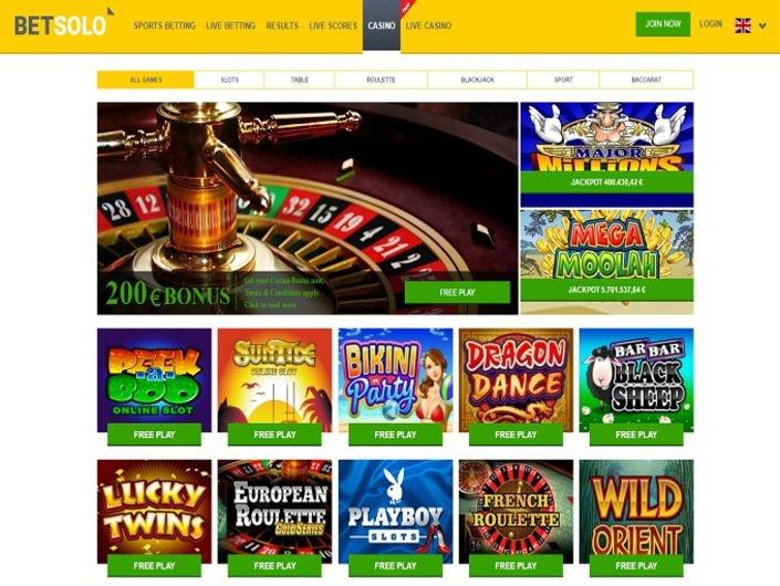BetSolo Casino