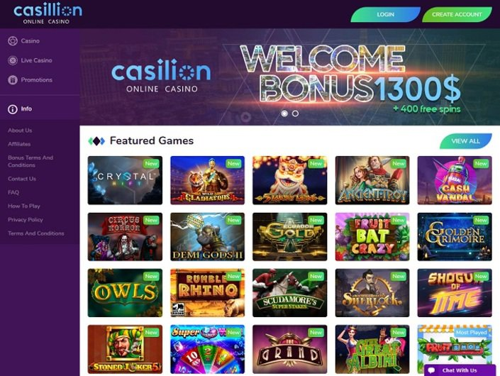 Casillion Casino objective review on LCB