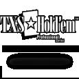 Texas holdem professional series logo white solid black stroke