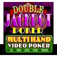 Multihand double jackpot poker