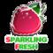 Sparkling fresh