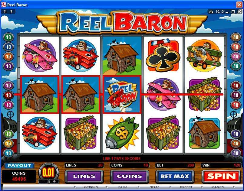 Game Review Reel Baron