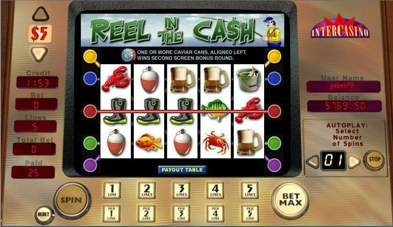 Game Review Reel in the Cash