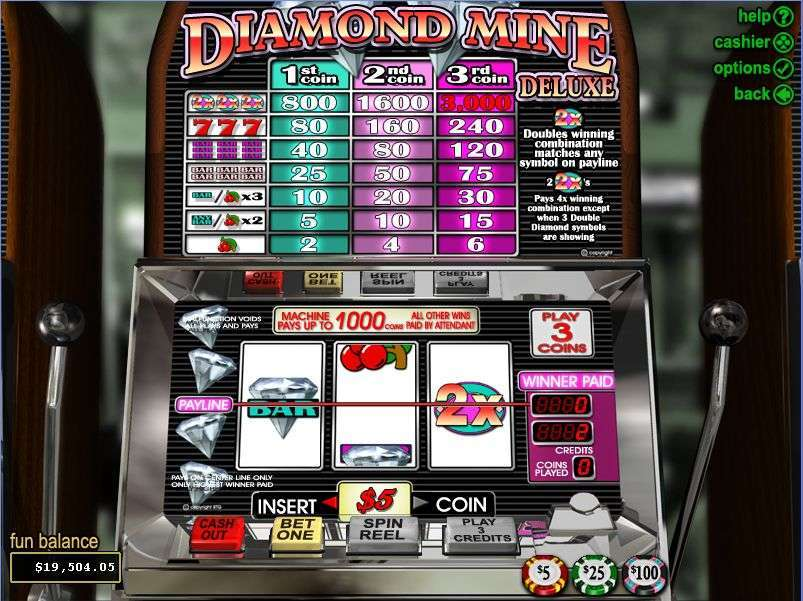 Game Review Diamond Mine Deluxe