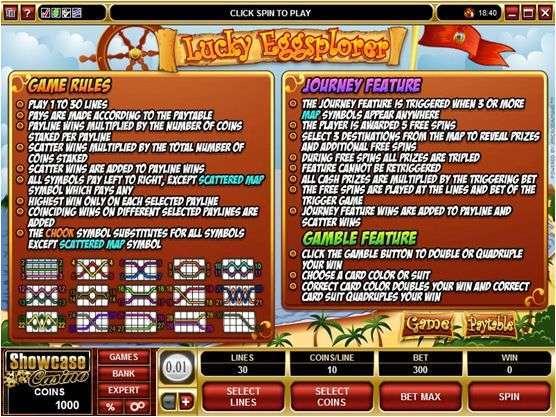 Game Review Lucky Eggsplorer