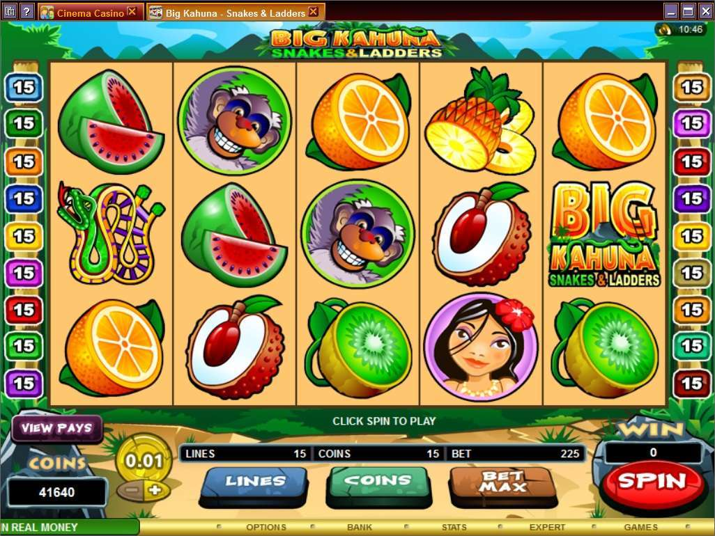 Game Review Big Kahuna Snakes and Ladders