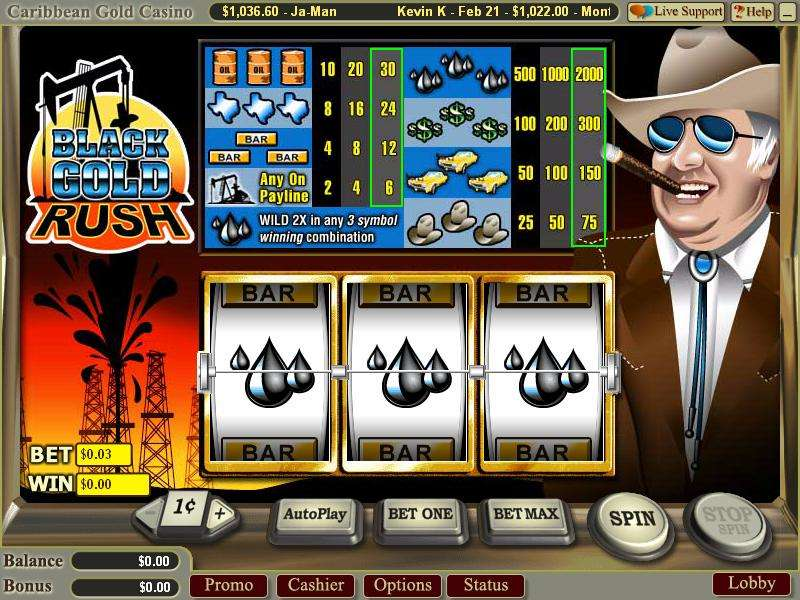 Game Review Black Gold Rush