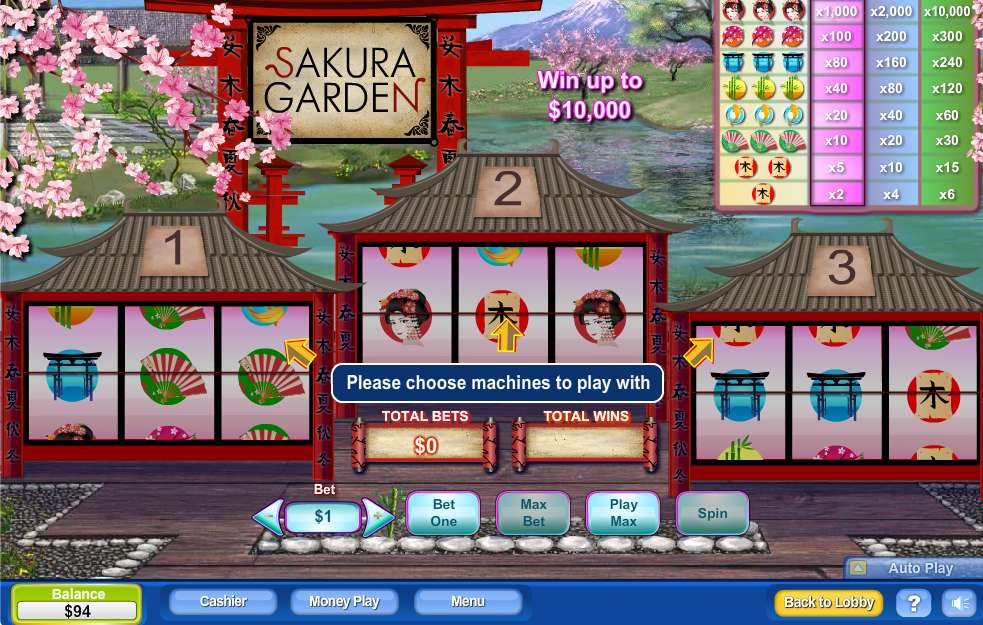Game Review Sakura Garden