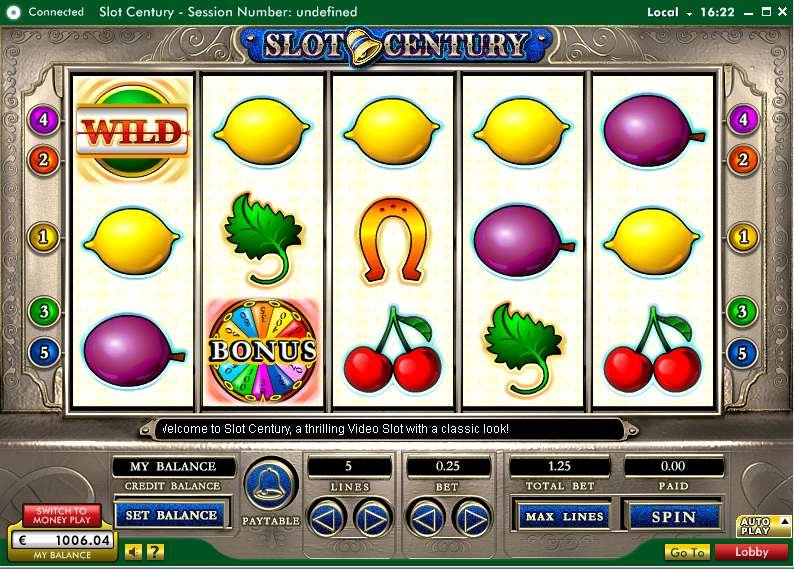 Game Review Slot Century