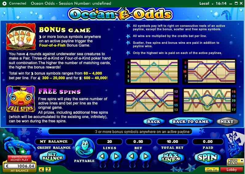 Game Review Ocean Odds