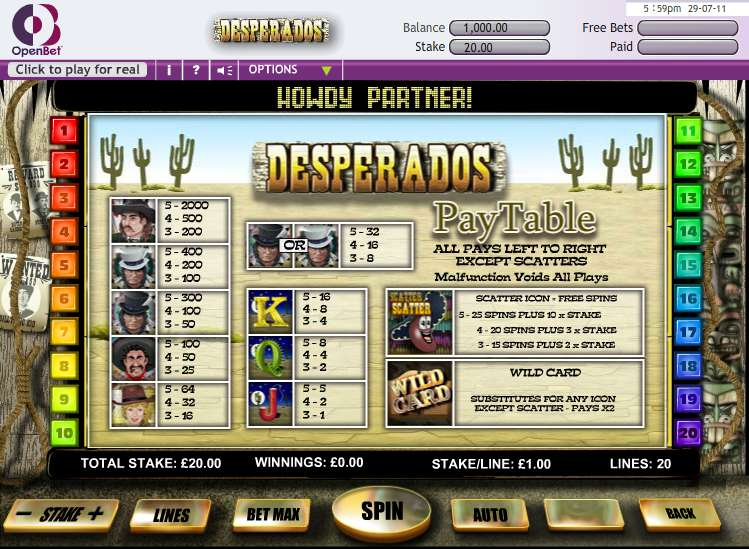 Game Review Desperado