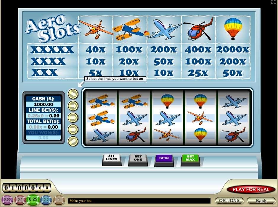 Game Review Aero Slots
